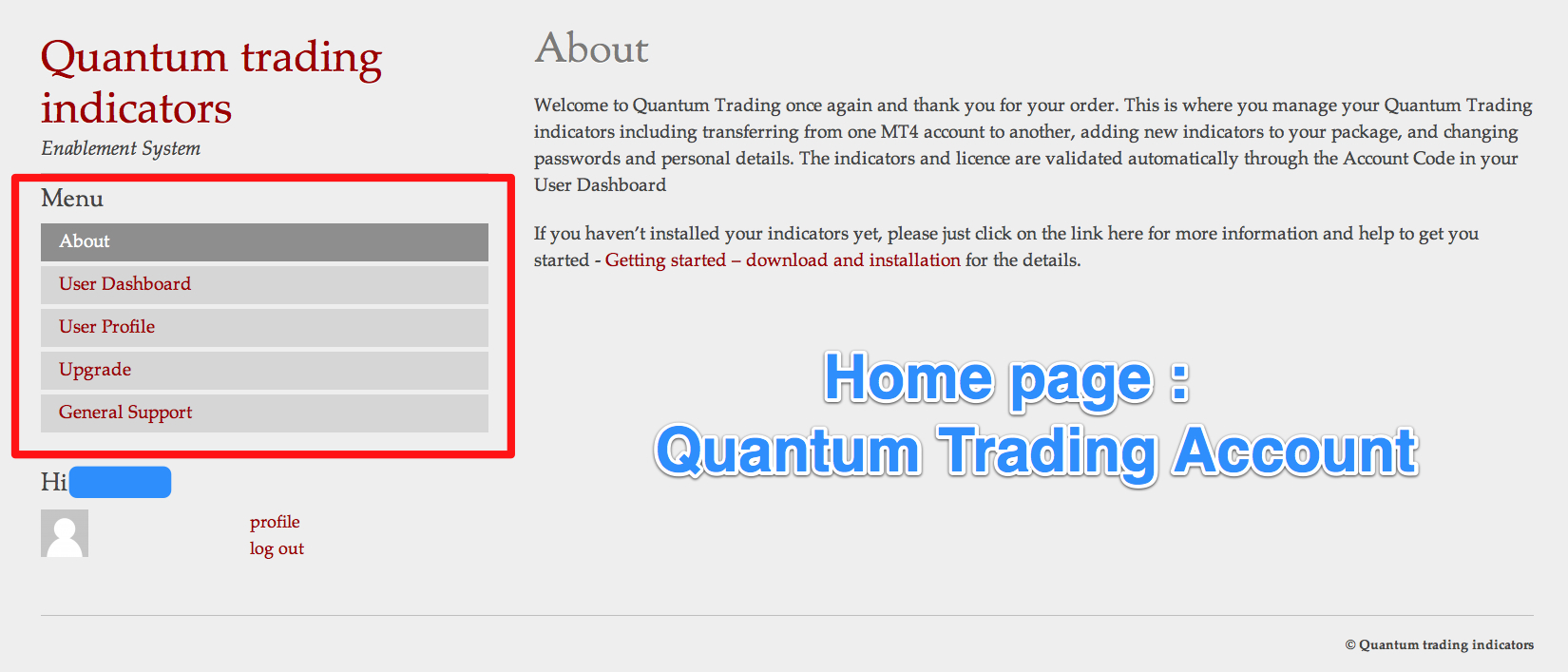 HOME PAGE - Quantum
